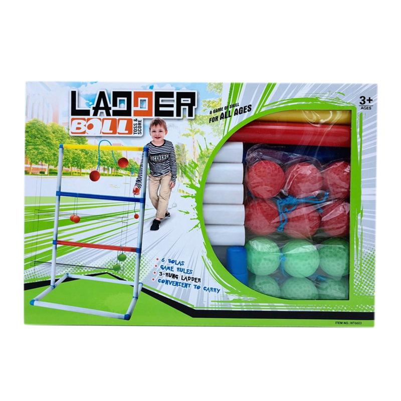 Golf Throwing Ball Ladder Ball Game Outdoor Casual Game Set