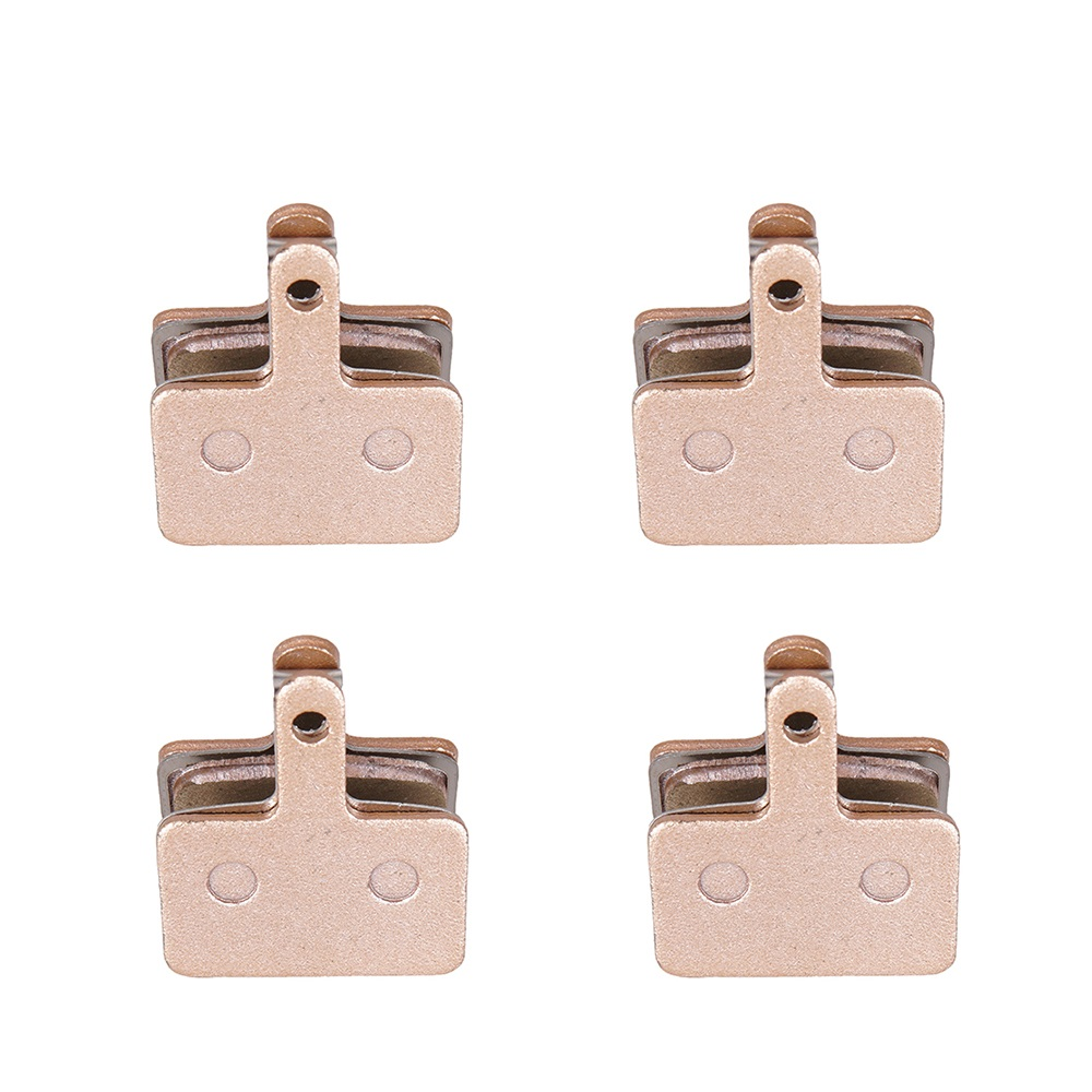 4 Pairs MTB Mountain Bike Bicycle Parts Full Metallic Brake Pads For <font><b>Shimano</b></font> M416 447 446 455 <font><b>355</b></font> 395 315 TEKTRO HDM 290 300 image