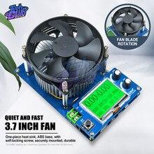 150W 10A ayarlanabilir sabit akım elektronik yük pil test cihazı 2.2 ''LCM metre kurşun-asit lityum deşarj kapasitesi Teste