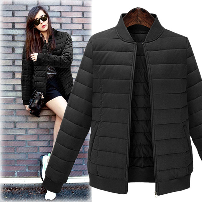 New Autumn winter 2019  of Jacket Stylish Windproof Women's Parka Coat plus size 4XL 5XL  Female Jacket Coat Women Quilted Coat