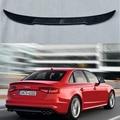 CS Стиль углеродного волокна задний спойлер крыло для Audi S4 B8 B8.5 S4 4 двери 2009-2016 (не для A4)