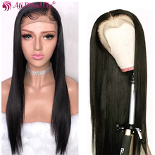 13X4 Lace Front Human Hair Wigs Long Natural Straight Lace Front Wigs Lace Part Wigs For Black Women Brazilian Remy Hair