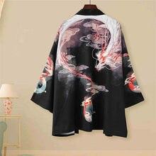 Kimono traditionnel Haori de Style japonais pour hommes et femmes, vêtements samouraï, de haute qualité, pour salon quotidien de rue