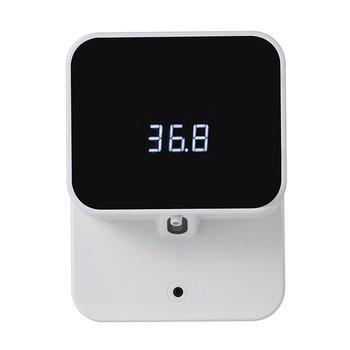 Dozownik do mydła bezdotykowy automatyczny piankowy dozownik mydła dozownik do mydła wyświetlacz Led USB akumulator podczerwieni dozownik do mydła z czujnikiem dozownik do mydła tanie i dobre opinie CN (pochodzenie) Z tworzywa sztucznego