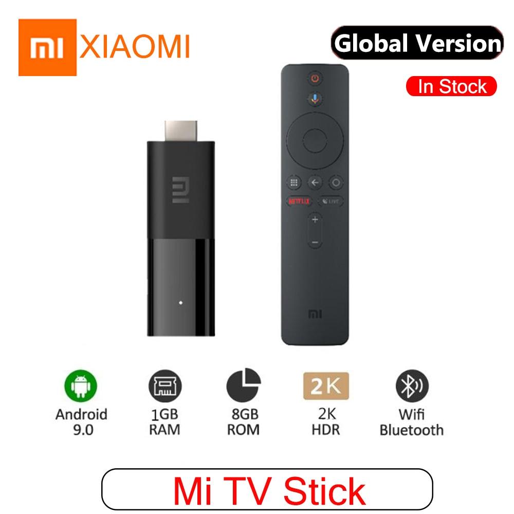 Original xiaomi mi tv vara smart tv android 9.0 wifi bluetooth controle remoto quad core 2k hdr 8gb rom tv...