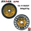 Zracing Alpha 12s легкая кассета 12 скоростей MTB велосипед freewheel 11-50 T/11-52 T-Gold  совместимый M9100/XX1 X01 GX NX Eagle