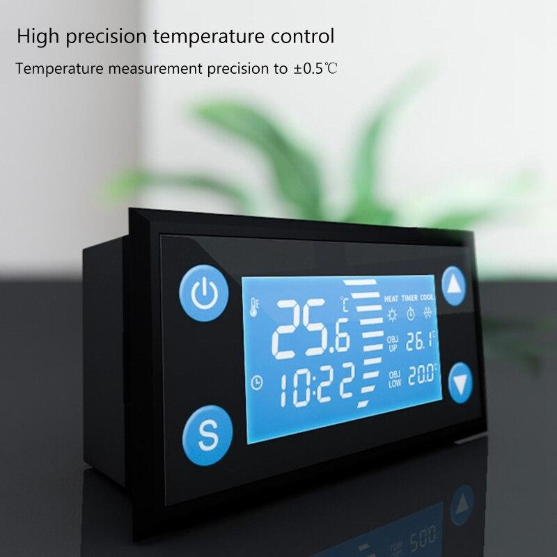 Deek-robô w1213 ac 110-220v termostato inteligente com