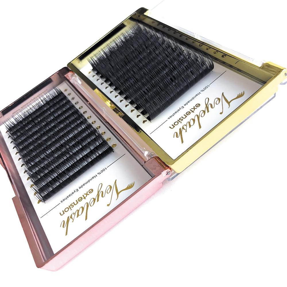 Viplash Super Soft C D DD Curl Mink Eyelash Extension Individuals Lashes For Volume Hybrid And Classic Lash Extensions Makeup
