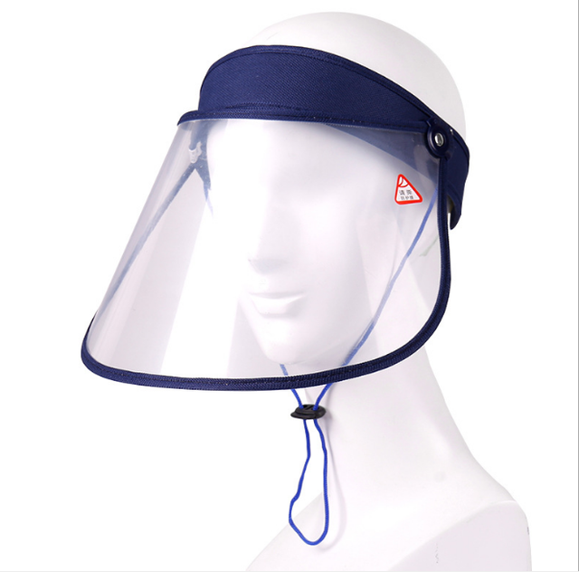 Anti Virus Mask Transparent Splash-proof Face Shield Protective Full Face Covering Mask Safety Protection anti Saliva Shield