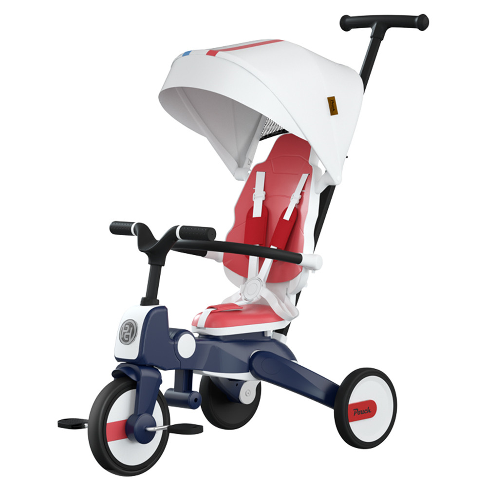 Luxury Baby Stroller Multifunctional Children's Tricycle Can Be Folded Two-way 1-7 Years Old 7 IN 1 Bicycle Good Quality