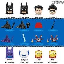Set Sale Block Figures Toy New DC Drama Titans Season Birds of Prey Super Heroes Batman Superman Iron man for Kids christmas Toy