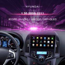 Car DVD For Hyundai i30 ( 2008 2011) auto A/ C Car Radio Multimedia Video Player Navigation GPS Android 10.0 Double Din