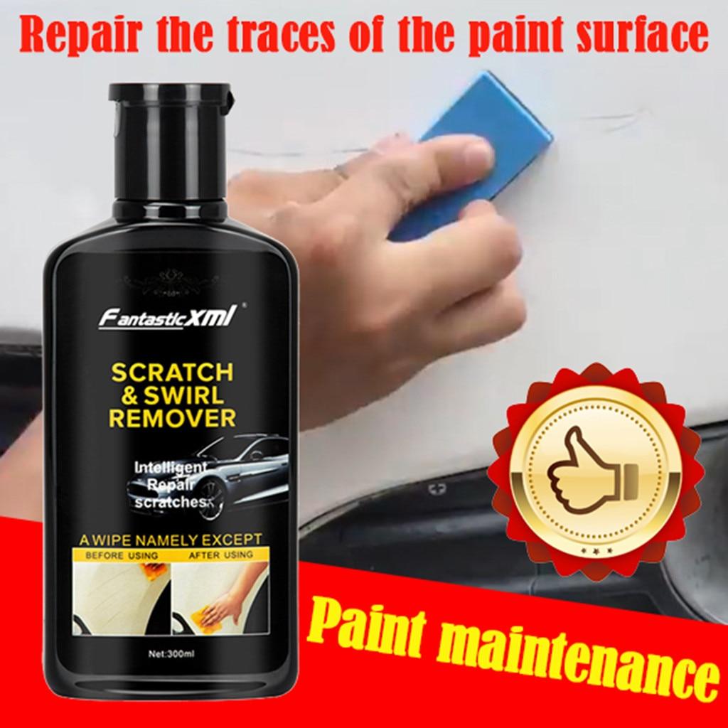 2020 nuevo mejor compuesto abrasivo Restauración de Pintura de coche FantasticXml Reparación de arañazos artefacto cera de reparación de arañazos 300ml # Ger