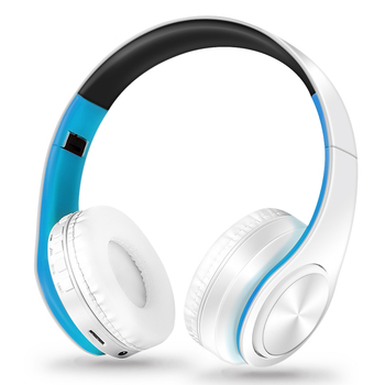 HIFI Stereo Earphones Bluetooth Headphone Music Headset FM and Support SD Card with Mic for Mobile Xiaomi Iphone Sumsamg Tablet 4