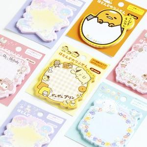 Image 1 - 30packs/lot kawii del fumetto Giapponese adesivo memo sticky segnalibro promemoria carino memo pad per la scuola e ufficio fornitori commercio allingrosso