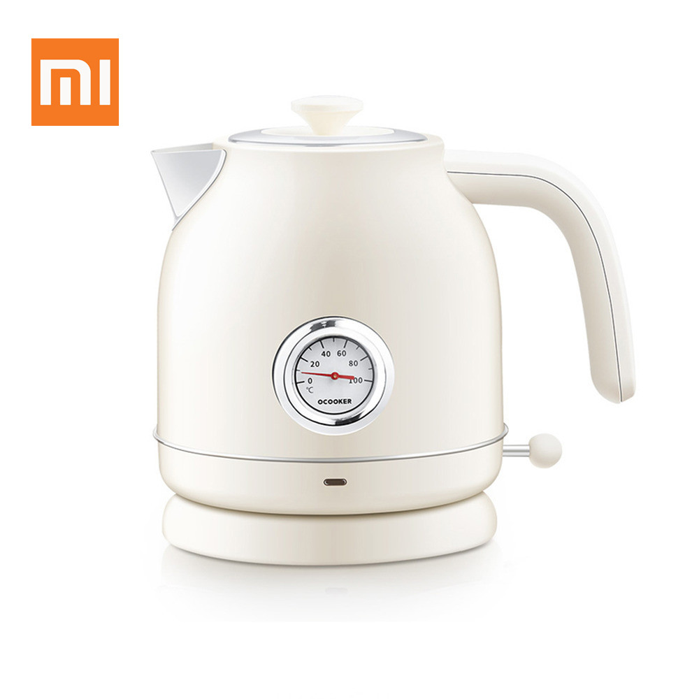 Original Xiaomi Youpin Ocooker Electric Kettle Import Temperature Control 1.7l Large Capacity With Watch Electric Kettle