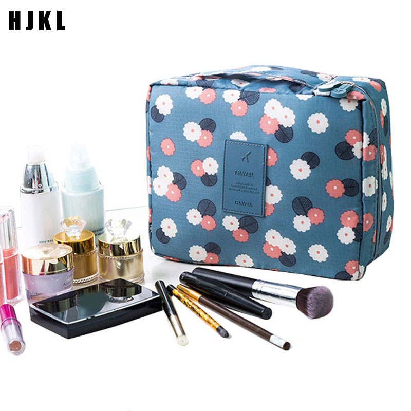 Hot Sale Multifunction Travel Cosmetic Bag Women Makeup Bags Toiletries Organizer Waterproof Female Storage Make Up Cases Multi