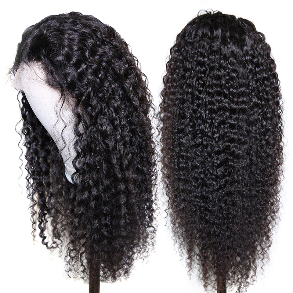 13x6 Deep Wave Remy Short Lace Front Human Hair Wigs Bob Afro Kinky Curly Frontal Wig Blonde Water Wave For Black Women