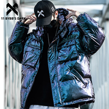 Jackets Streetwear Coats Parkas Windbreaker Harajuku Mens Cargo 11 Hip-Hop Dark-Reflective