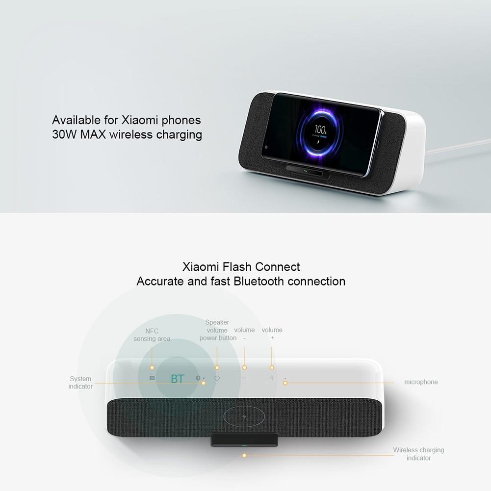 Xiaomi 30W QI charger + Bluetooth speaker  10