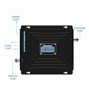 Image 2 - Lintratek tri band repetidor 850mhz CDMA 1800 2100 2G 3G 4G repeater GSM UMTS LTE 1800 4G booster mobile signal amplificador #5