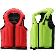 Swimming Inflatable Snorkeling Floating Life Vest Life Jacket Buoyancy Vest Surfing Children Life Jacket for Adult Children цена