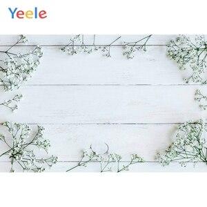 Image 5 - Yeeleクリスマス木製ボード花壁ベビーの写真撮影の背景ビニール写真背景写真スタジオphotozone食品