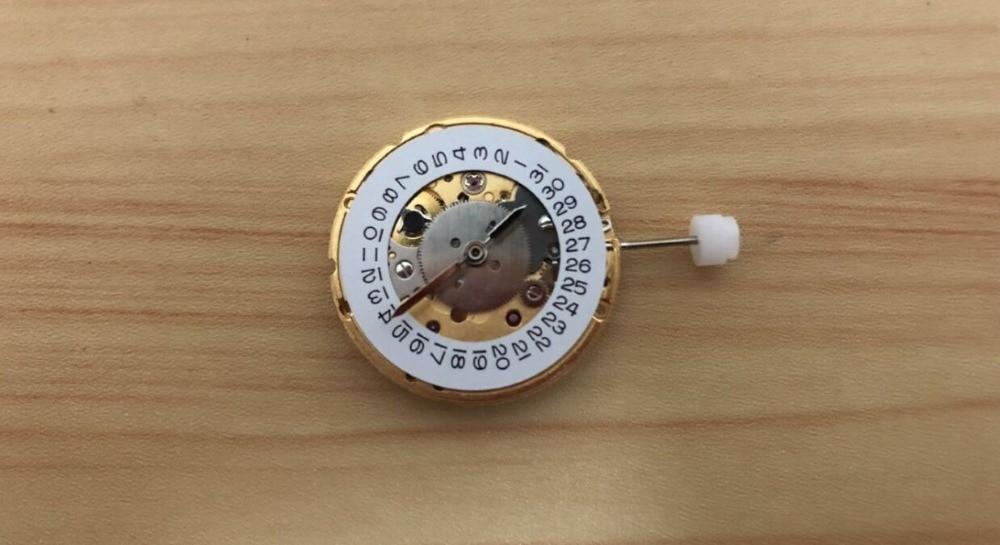 Frete grátis 1pc brandnew hangzhou hz6460 movimento mecânico gmt
