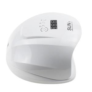 Image 5 - SUNX 54W נייל מייבש UV LED מנורת LCD תצוגת 36 נוריות מייבש מנורת ריפוי ג ל פולני אוטומטי חישה נייל ייבוש מניקור כלי