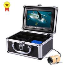 Luckylaker vídeo peixe finder 7 Polegada lcd monitor kit câmera para o inverno subaquática pesca no gelo manual backlight menino/presente masculino