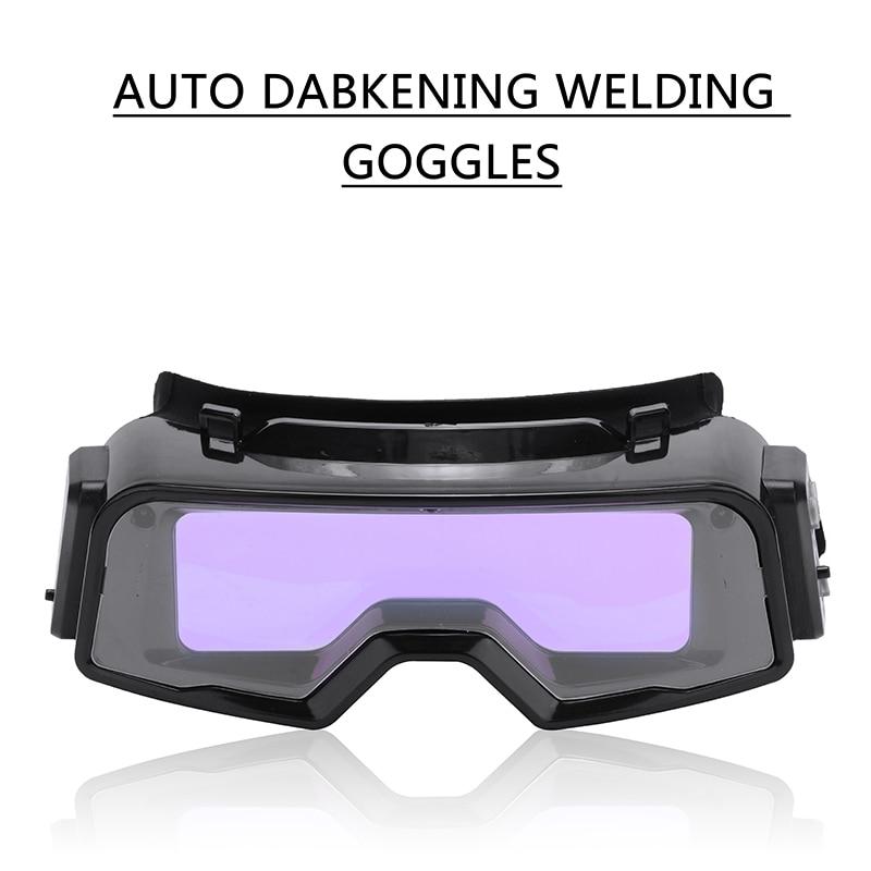 Solar Auto Darkening Welding Mask Welding Helmet Eyes Goggles Welder Glasses Protection Helmet for Welding Equipment