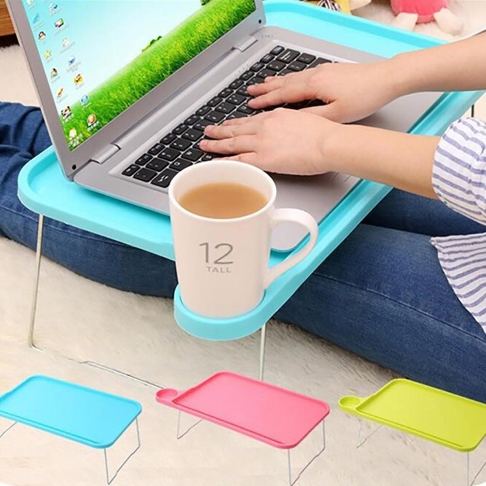 Foldable Portable Tablet Table Desk Computer Notebook Tray Stand For Bed Sofa