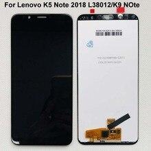 """Orijinal yeni AAA 6.0 """"Lenovo K5 not 2018 L38012 LCD ekran + dokunmatik panel sayısallaştırıcı Lenovo K9 not"""