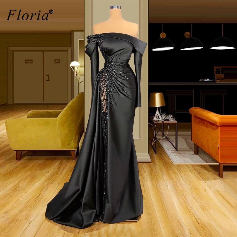 contas longas vestidos de noite feminino tapete