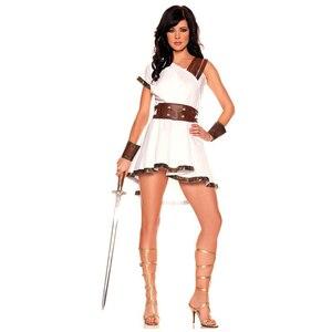 Image 3 - โบราณอียิปต์เครื่องแต่งกายผู้ใหญ่ผู้หญิงผู้ชายCarnivalฮาโลวีนชุดแฟนซีเสื้อผ้าโรมันทหารชุดคอสเพลย์
