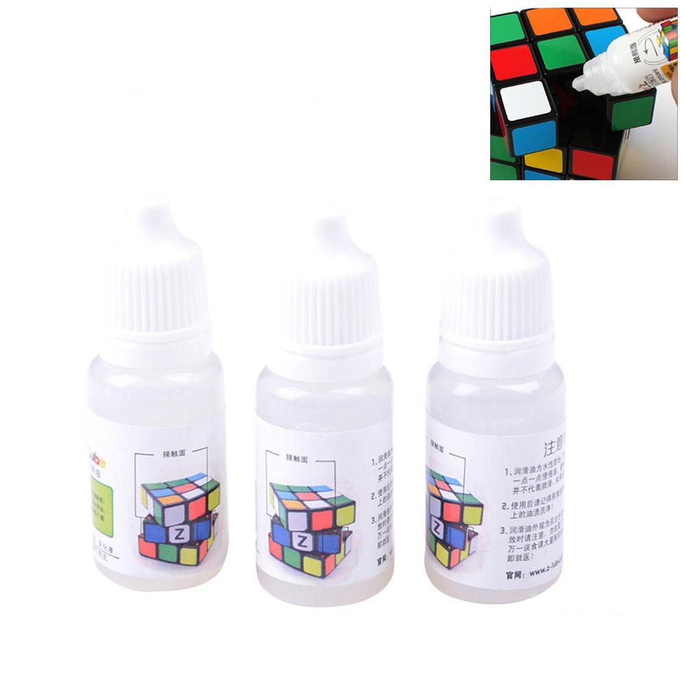 1 Pcs Z-lube Magic Cube Lube Lubricating Oil 10ML Cubo Magic Maru Cube Oil Best Silicone Lubricants Best Silicone Lubricants Toy