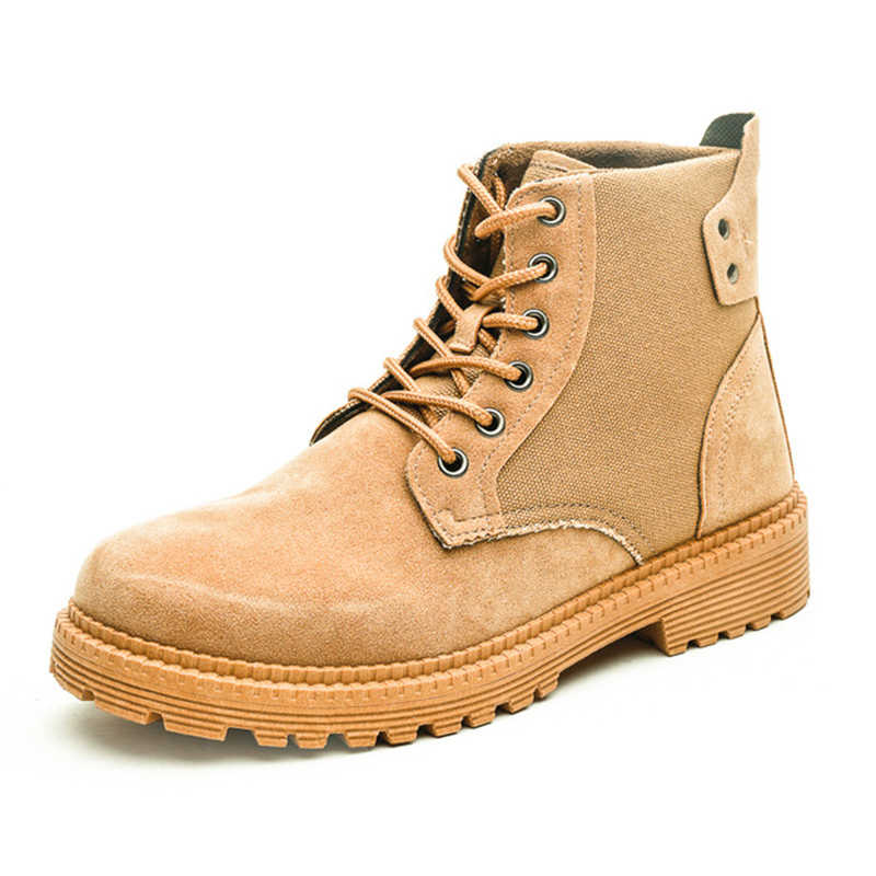 2019 style britannique chaussures pour hommes fil à coudre Chelsea BootsBrogue Chelsea bottes hommes chaussures bottines hommes décontracté coton chaussures