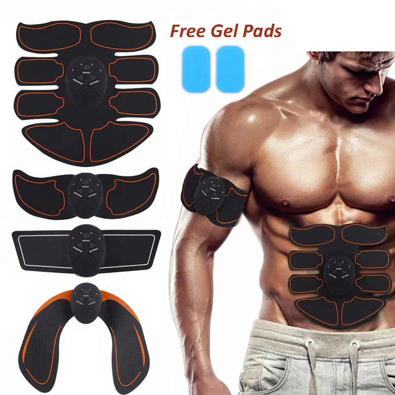 Corpo Estimulador Muscular Abdominal Trainer Exercitador Braço Inteligente Nádega Queima Corpo Da Máquina De Emagrecimento Massagem De Fitness Ginásio Exercício
