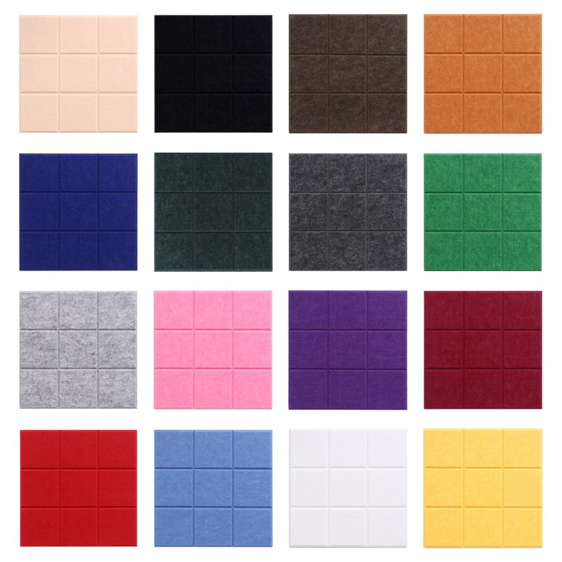 Nordic Style Felt Background Letter Board Photo Wall Household Message Display Decoration Craft