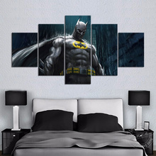 No Frame Cartoon Painting Batman Movie Poster Comic Artwork Home Decoration Canvas Art Wall Pictures for Living Room