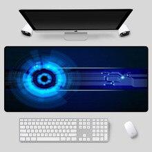 XGZ большой размер изысканный высокотехнологичный коврик для мыши серии шаблон настольный ПК компьютер необходимые противоскользящие клавиатуры