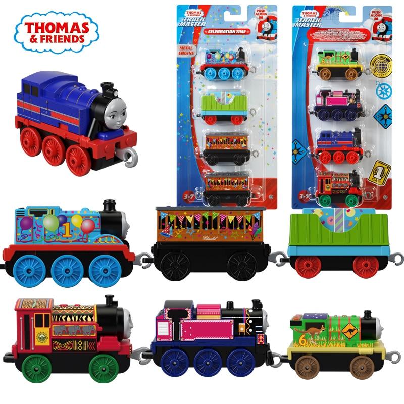 Thomas et amis trains jouets chauds tomas métal trains magnétiques miniatura de carro moulé sous pression modèle enfants jouets pour enfants cadeau