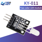 1Pcs KY-011 5mm Two Color Red and Green LED sensor Common Cathode Module for DIY Starter Kit 2-color KY011