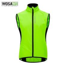 WOSAWE Radfahren Weste Winddicht MTB Bike Jacke Outdoor Sport Radfahren windjacke Wasser Abweisend Reflektierende Bike Kleidung