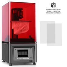 Elegoo mars 2 pro mono sla impressora 3d uv fotocura lcd impressora 3d com 6 polegada 2k monocromático lcd tamanho de impressão 129x80x160mm