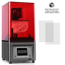 3d-Printer Monochrome SLA Elegoo Mars Photocuring 6inch LCD UV with 2K Size-129x80x160mm