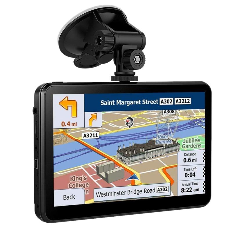 7 zoll Android 4.4 Auto Dvr Kamera Kapazitiven Bildschirm Hd 1080P Drücken Kontaktieren Bildschirm Satellite Navigation Gps Recorder
