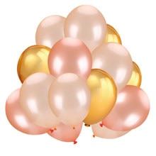 Parça 30 İnci lateks balonlar 12 inç gül altın/mavi/mor
