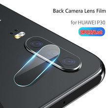 2pcs screen protector for huawei P30 P30lite Protective Back camera lens glass on P30pro 9H 2.5D