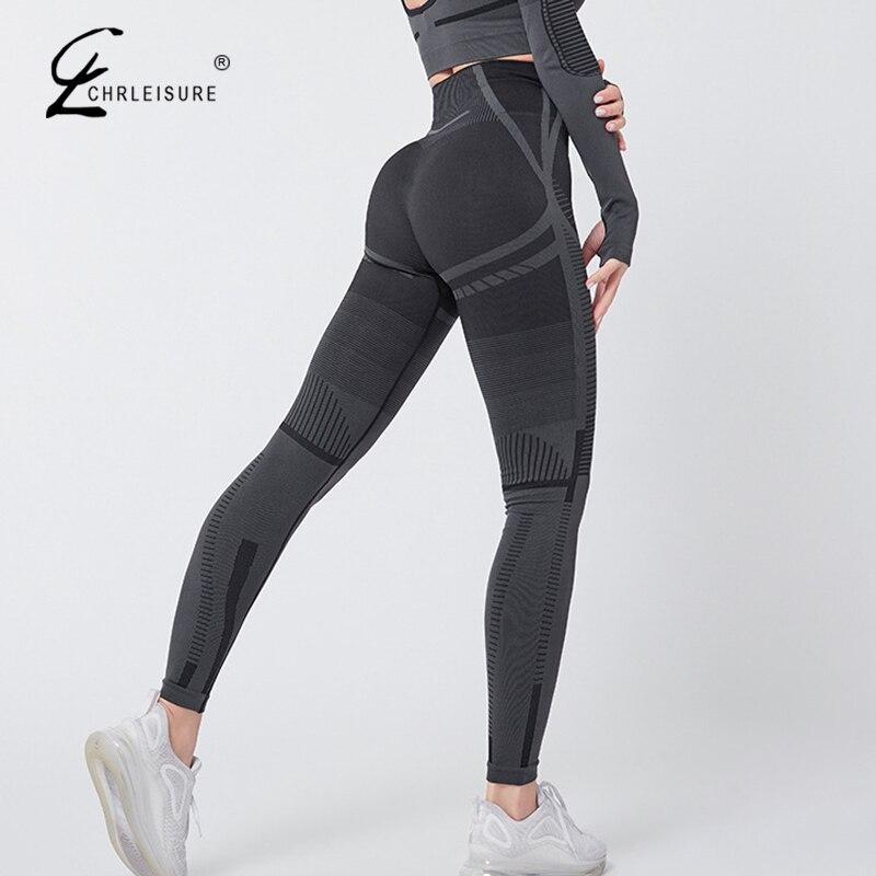 Sexy Seamless Leggings Fitness Women High Waist Workout Legging Elasticity Tight Leggins Female